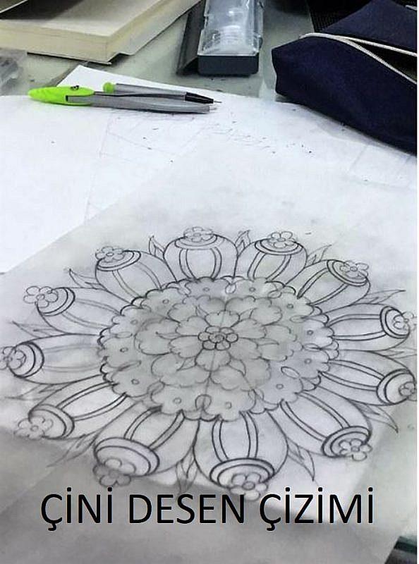 Çini Desen Çizimi